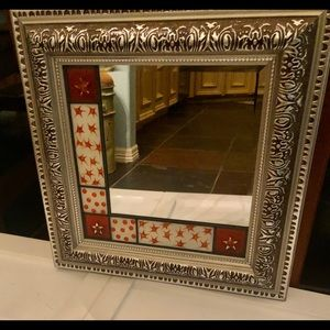 12 x 12 Stained Glass mirror